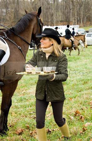 PFH New Years day meet at Blue Ridge Farm