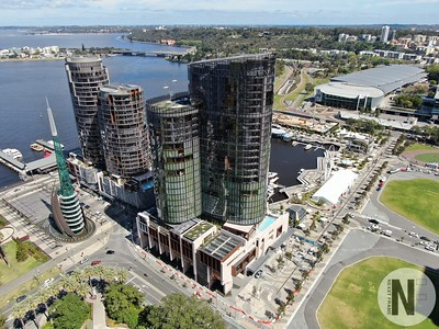 The Ritz Perth, Bell Tower & Elizabeth Quay