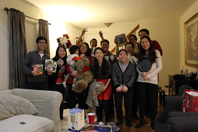 2015 Christmas Party (Various Life Groups)