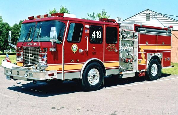 Company 19 - Lorton Fire Department