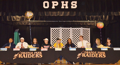 OP Seniors College Signing!