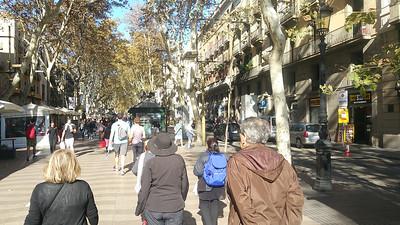 Barcelona, Spain Nov 5- day 1