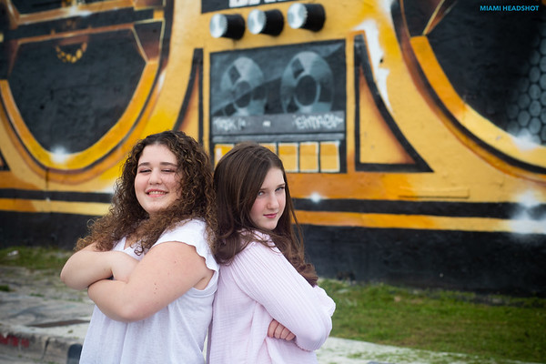 AVERY FOX'S BAT MITZVAH SHOOT IN WYNWOOD, FL