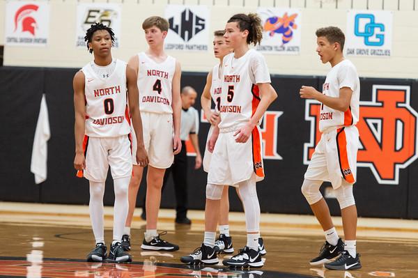 NDHS JV Basketball vs Lexington 2020