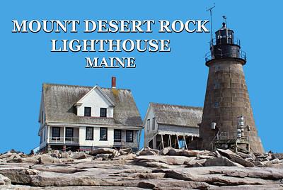Mount Desert Rock Lighthouse, Maine