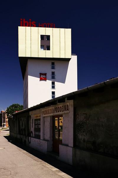 Výšková budova mimo pořadí - hotel Ibis