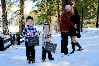 Leticia & Jason Engagement Shoot 2-11-2017