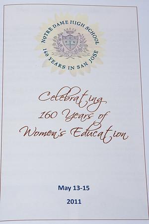 2011 160th Anniversary