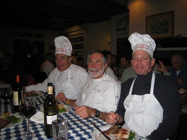 John Bentley, Alain Vincey, James Jacob
