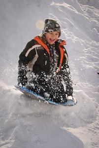 2010 Feb - Sledding