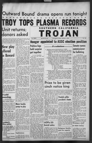 The Trojan, Vol. 35, No. 69, January 07, 1944