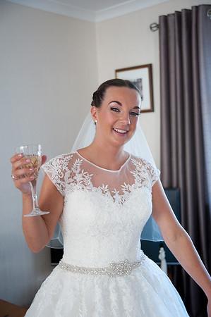 Bridal preparation-Lisa & Scott