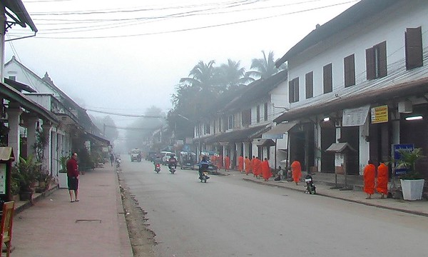 Luang Prabang, Laos - December 2004