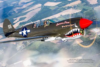 """TP-40 Warhawk """"AMERICAN DREAM"""""""