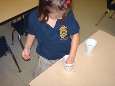 PreK Week 9 and Our Taste Testing 10/21/11