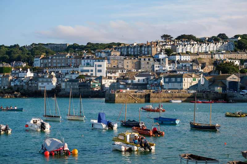 St. Ives as seen from the harbour