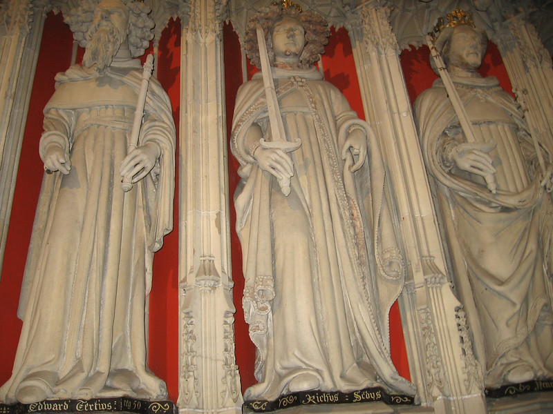 Choir Screen, York Minster (Edward III, Richard II, Henry IV)