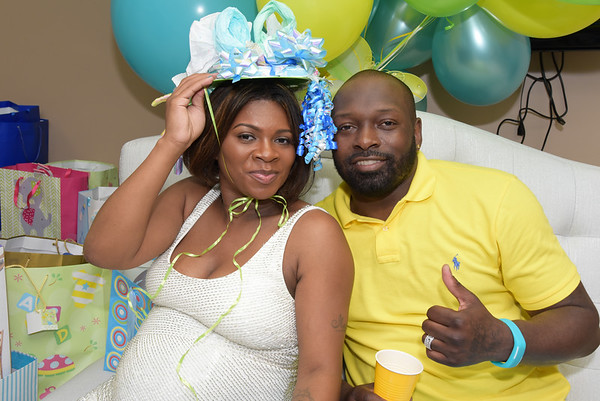 Eric and TEE TEE  Childs Baby Shower
