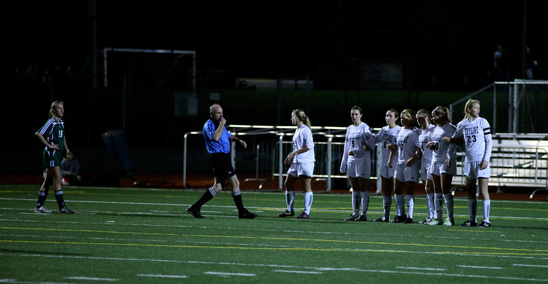 Woodinville High Girls Varsity Soccer verse Skyline High October 20, 2011, ©Neir