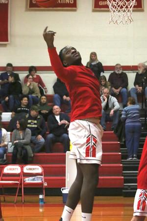 Liberty vs. Sullivan West Boys Basketball 1-3-20