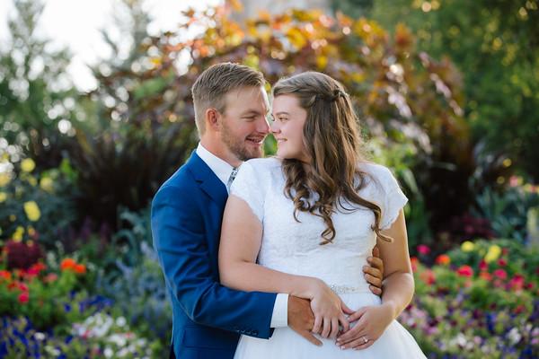 Megan and Evan Bridals