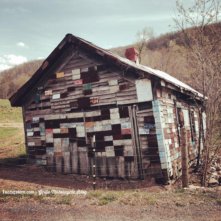 license plate barn near romney west virginia