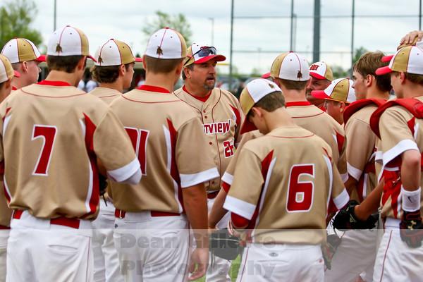 Varsity Baseball v Fremont