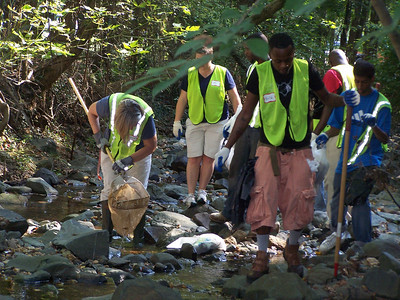 9.22.10 Stream Cleanup Along Bull Run in Catonsville