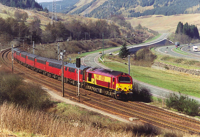 WCML Carstairs to Beattock Bank