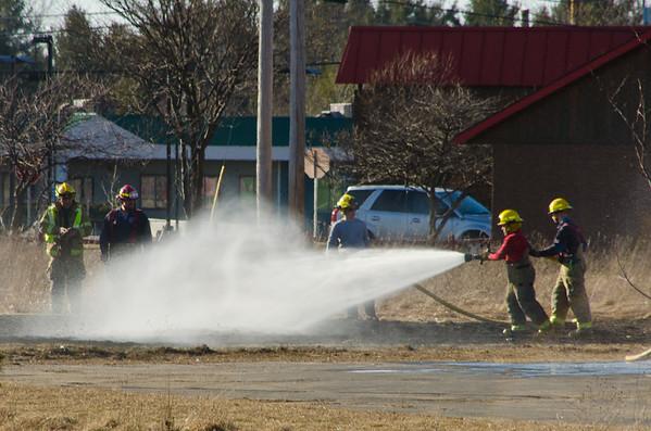 Milton Brush Fire