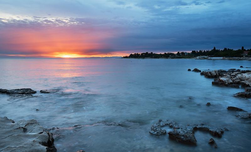 Sunset in Zambratia