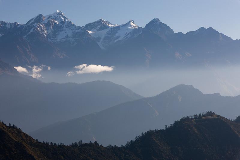Himalayan Range, Solu, Nepal.
