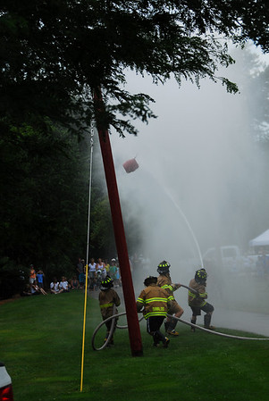 Fire Fighter Water Fight - Warrenville, Illinois - 2010