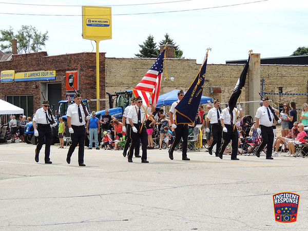 2015 St. Lawrence Firemen's Parade