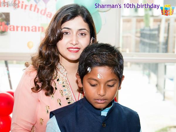 Sharman's 10th Birthday
