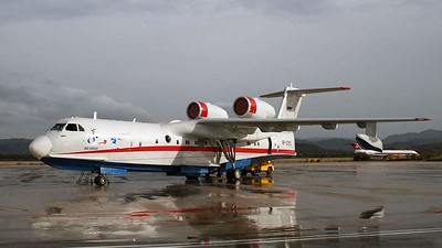 """The Northern fleet will receive"""" flying boats """"Be-200 """"Altair»"""