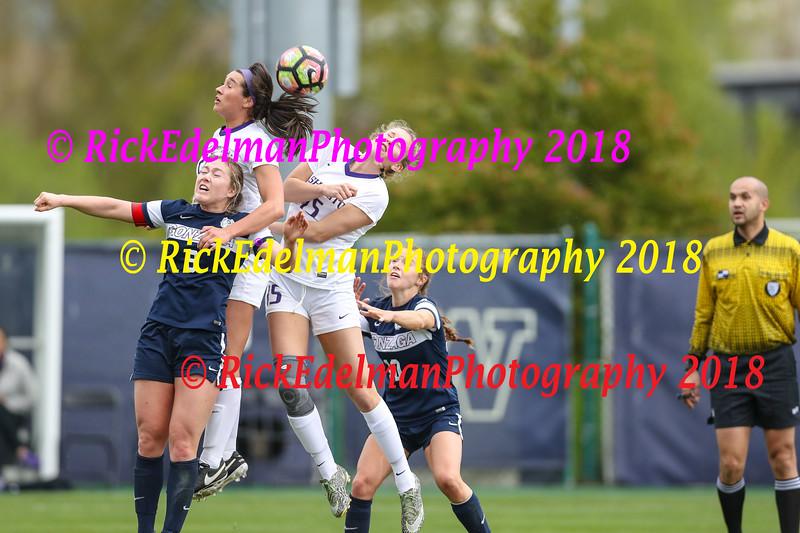Gonzaga vs UW Women's Soccer