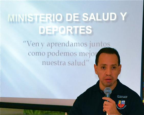 Ministerio Salud y Deportes 2014