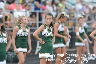 09-05-2014 Damascus HS Varsity Cheerleading, Photos by Jeffrey Vogt Photography