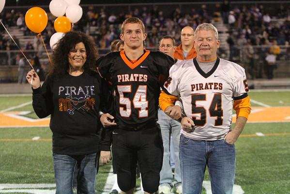 09 Football Senior/Parent Night 2014