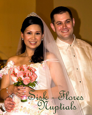 SISK-FLORES NUPTIALS