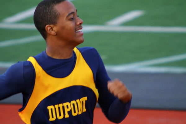 DuPont Middle School Track