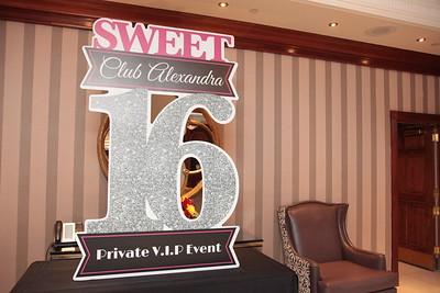 Alexendra's Sweet 16