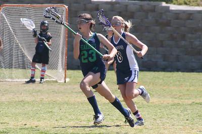 Lacrosse scrimmage