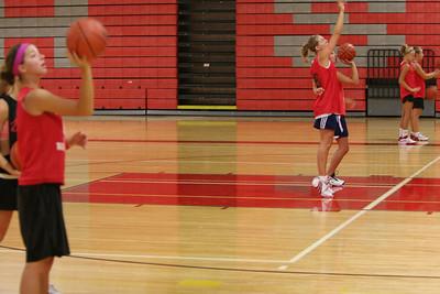 Girls Varsity Basketball - 2006-2007 -  8/14/2006 First Day of Season