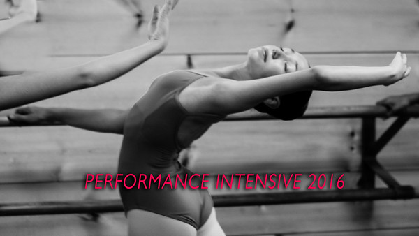 PERFORMANCE INTENSIVE 2016