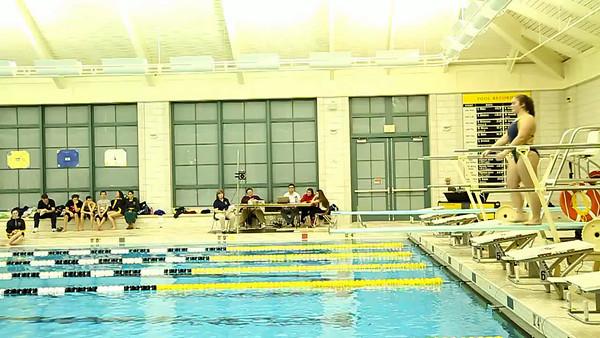 2-14-2013 Senior Night - Diving