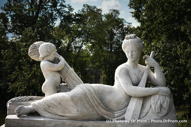 The Angelic Rower With Her Child