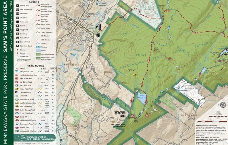 Minnewaska State Park Preserve (Sam's Point Area)