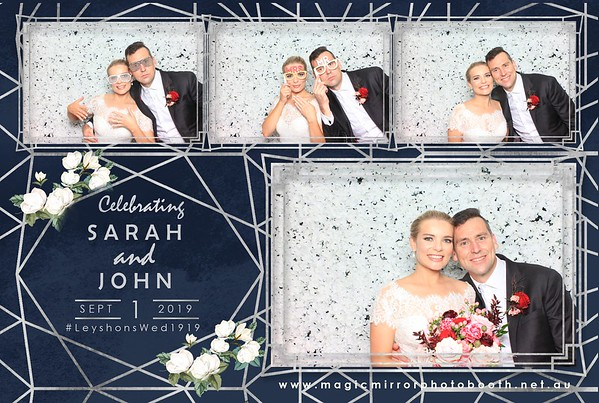 Sarah & John Wedding - Dunbar House